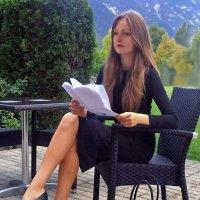 девушка секретарь :: Ангелина Ангельская