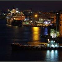 Валлетта. Большая гавань.. Вечер... :: Николай Панов