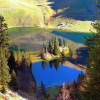 небо в озеро упало :: Elena Wymann