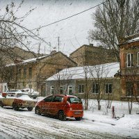 Зима на Молдаванке. :: Вахтанг Хантадзе