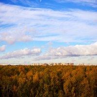 На горизонте Москва... :: Иван