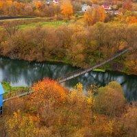 Подвесной мост через Дон :: Мадина Скоморохова