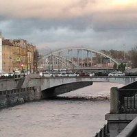 Американские мосты через Обводный канал. (Октябрь, 2017 год) :: Светлана Калмыкова