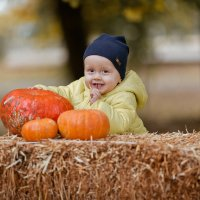 Золотая осень и лучезарный Илюша :) :: Кристина Беляева