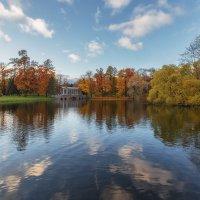 Осенние отражения Екатерининского парка :: Александр Кислицын
