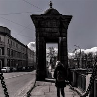 На Старо-Калинкином мосту :: Eugene *
