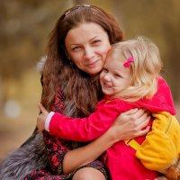 Милая Мила и ее очаровательная мамочка Елена... :: Кристина Беляева