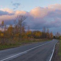 Дорога в осень. :: Виктор Евстратов