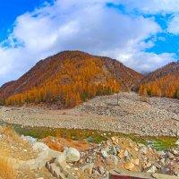 Панорама поворота реки :: Анатолий Иргл