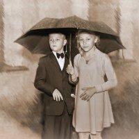 Прогулка под дождем :: Георгий Вересов