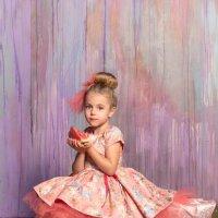 Девочка с арбузами :: Олеся