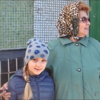 В гостях у бабушки :: Нина Корешкова