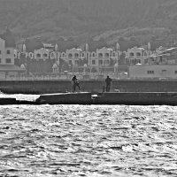 избушки у моря :: Александр Корчемный