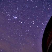 Звездная ночь на берегу Брынского водохранилища :: Павел Вячеславович