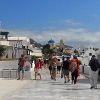 Белые города Санторини. :: Надя Кушнир