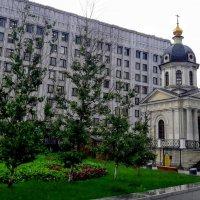 Храм-часовня Бориса и Глеба на Арбатской площади (Москва) :: Tata Wolf