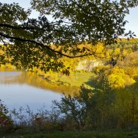 Наблюдая за осенью сверху ... :: Ольга Винницкая (Olenka)