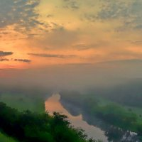 утро..туман.. :: юрий иванов