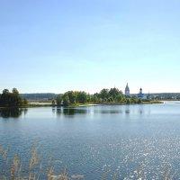 Свято-Троицкий Островоезерский монастырь :: Sergey
