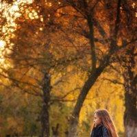 В осеннем парке :: Вера Сафонова