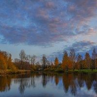 Осенний пруд :: Анатолий