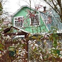 Снег идёт, время летит, к Новому году может и открыточка упадёт в почтовый ящик. :: Татьяна Помогалова