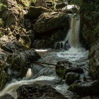 Водопад на р. Ойрок (Третья речка). :: Марина Фомина.