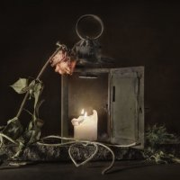 Открыта дверь..надежды свет не гаснет... :: Olga Ger