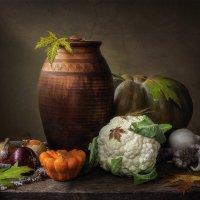 Осенний овощной натюрморт :: Ирина Приходько