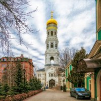 В Свято-Успенском Одесском Патриаршем монастыре. :: Вахтанг Хантадзе