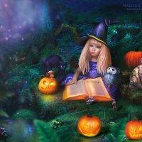 """Little witch"" :: Malinka Art Galina Kazan"