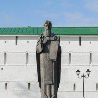 Памятник Сергию Радонежскому в Сергиевом Посаде :: Виктор Филиппов