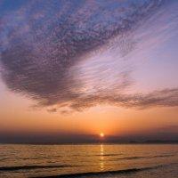 Закат над Японским морем :: Арина