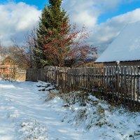 А вот и первый снег! :: Владимир Деньгуб