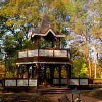 Царская беседка в Кисловодском курортном парке :: Нина Бутко