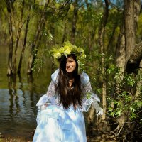Моя младшая дочь Амина. :: Галинка