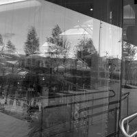 Ветер, витрина, вечер :: Ирина Хан