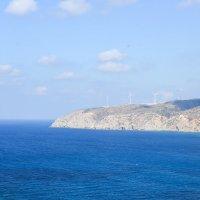 Родос. Вид на Эгейское море, бухта Прассониси :: Александр Беляков