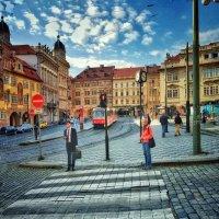На улицах Праги. :: Gene Brumer