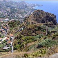 Мадейра, Вид на спуске с Кабо-Жирао. :: Jossif Braschinsky