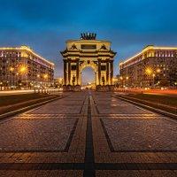 Триумфальная арка. Москва :: Борис Гольдберг