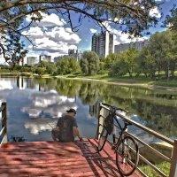 Мазиловский пруд. :: Александр Бабаев