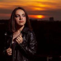 Вечер над Волгой :: Маришка Ведерникова