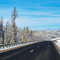 Север, первый снег! :: Вячеслав Назаренко