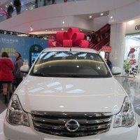 Главный приз - Nissan Almera :: Дмитрий Никитин