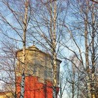 Водонапорная башня :: Сергей Кочнев