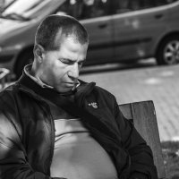 Уснувший Авангард Леонтьев.... :: Cергей Павлович