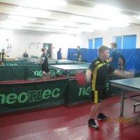 Районные соревнования по настольному теннису среди детей :: Центр Юность