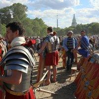 римские воины в Коломенском :: Олег Лукьянов