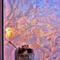 Десерт у зимнего окна :: Сергей Чиняев